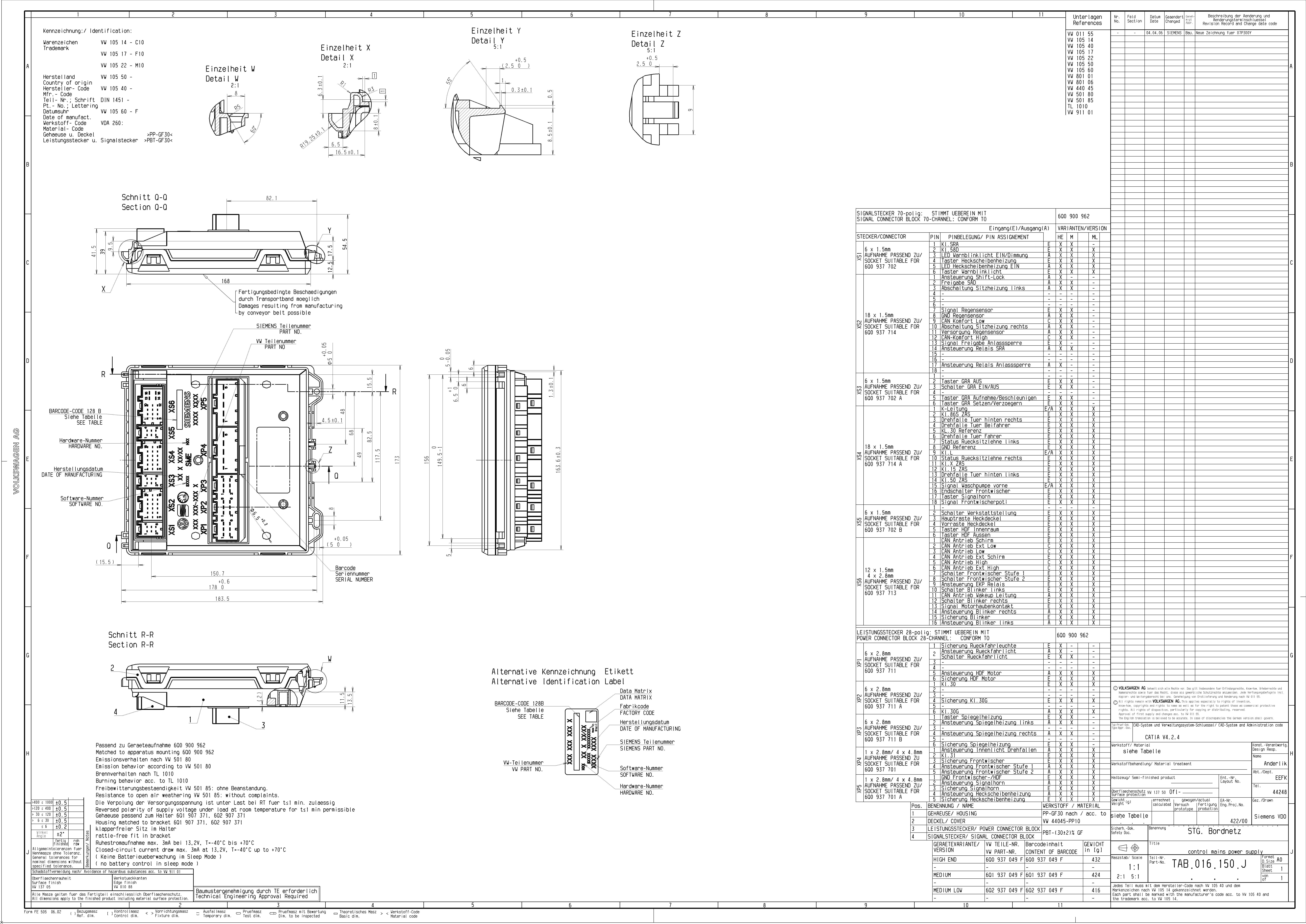 anleitungen 6l   6l  ea  einbau einer gra    tempomat im modell 6l - seite 5