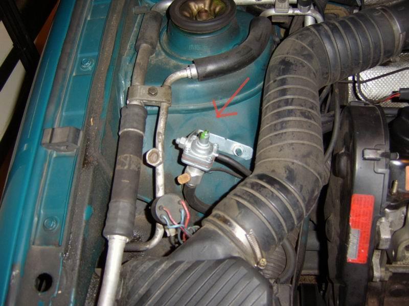 Der Dieselmotor ist als das Benzin besser