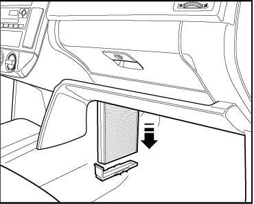6l wo ist der pollenfilter innenraumfilter. Black Bedroom Furniture Sets. Home Design Ideas